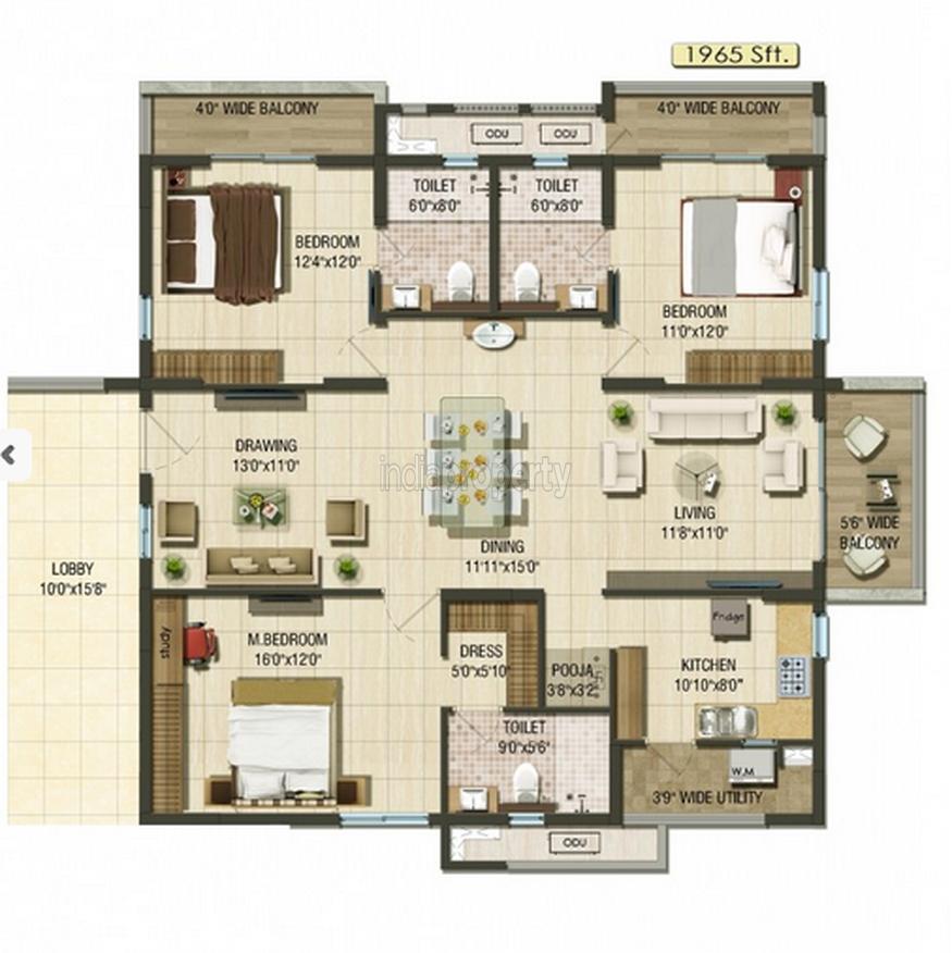 Macy S Herald Square Floor Plan: Aparna Cyberlife In Nallagandla, Greater Hyderabad