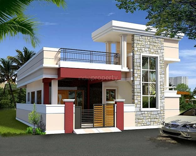 Lacs 3 bhk independent house villa for sale in for Independent house designs in india