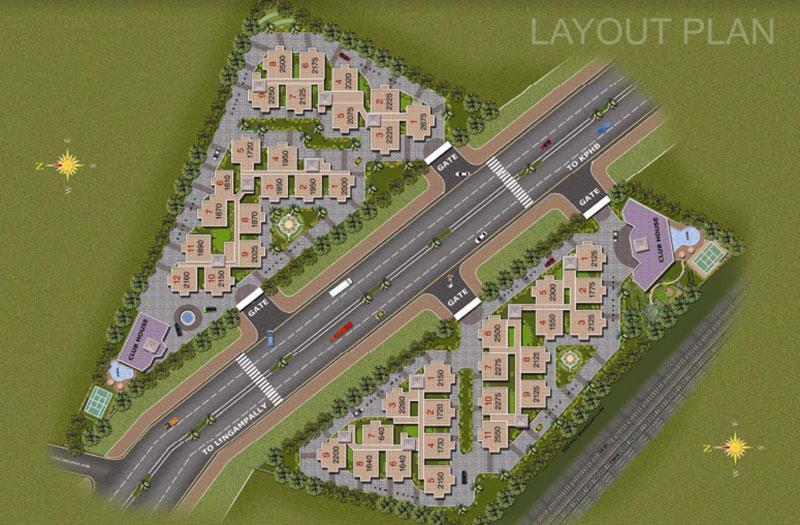 Aditya Capitol Heights In Hi Tech City Hyderabad By