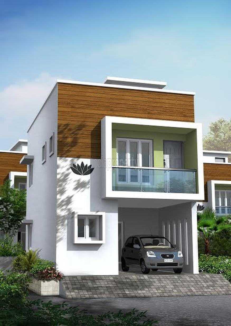 Lacs 2 bhk independent house villa for sale in for Individual house models in chennai
