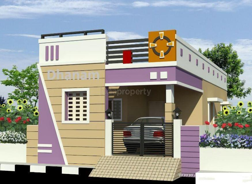 Lacs 1 bhk independent house villa for sale in for Individual house models in chennai