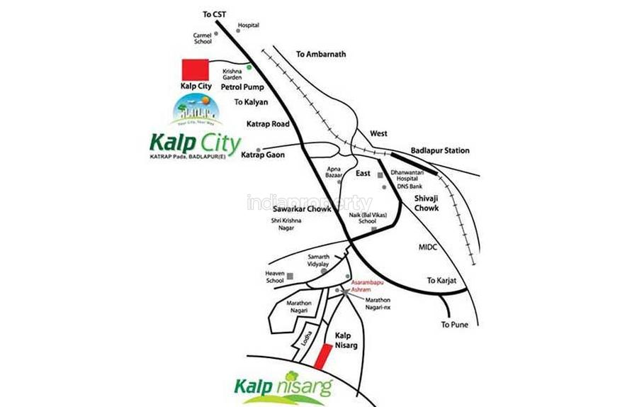 kalp city in badlapur east  mumbai