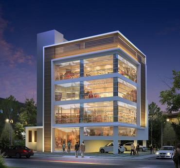 2500 commercial building in kannur town kannur for Commercial building plans for sale
