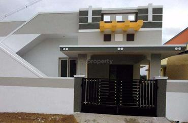 650 2 bhk independent house villa in pattabiram for Individual house models in chennai